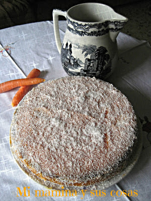 receta bizcocho de zarahoria