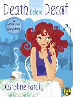 Bea's Book Nook, Review, Death Before Decaf, Caroline Fardig, mystery