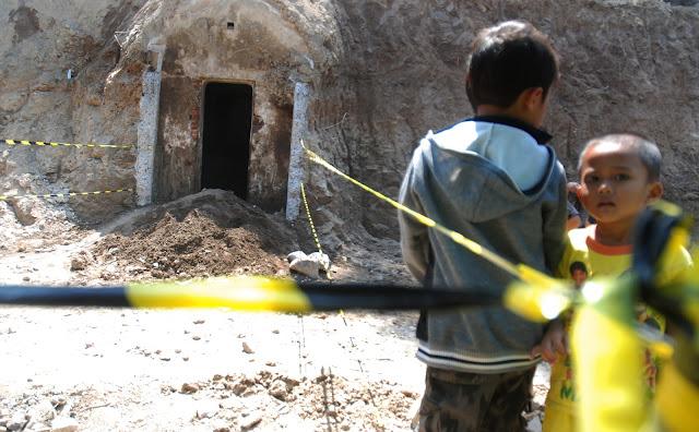 Bunker Goa Buatan RS Kariadi Tidak Sengaja Tergali