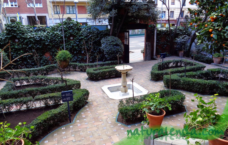 La naturaleza en casa jard n del museo sorolla for El jardin romantico