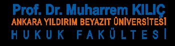 Prof. Dr. Muharrem KILIÇ