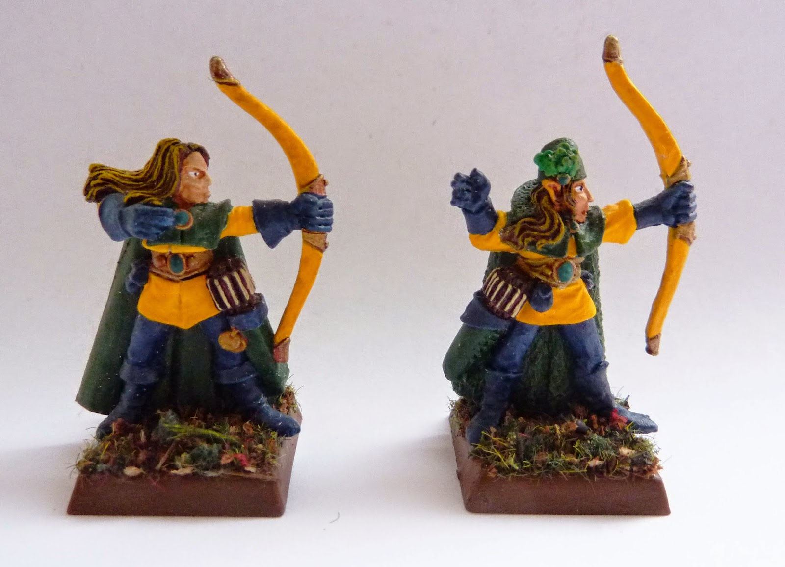 Wood Elf Glade Guard, Warhammer Fantasy Battle