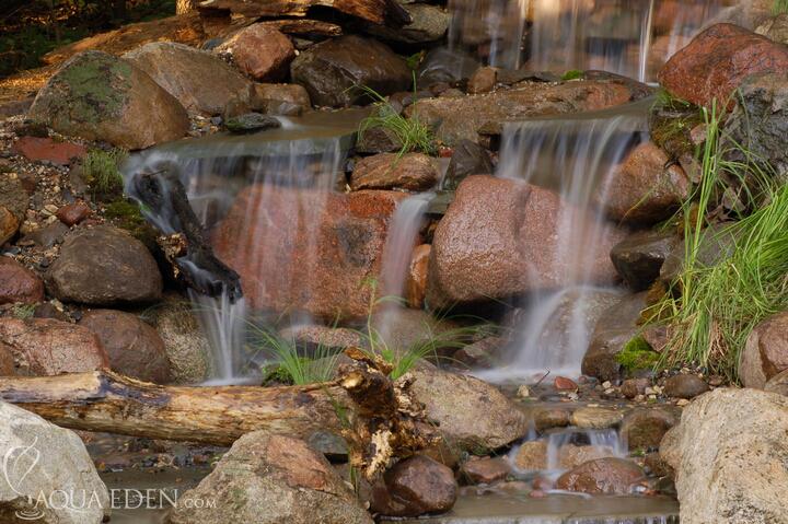 Laman impian for Koi waterfall