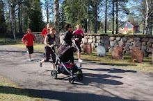 Reportage i Mora Tidning om BootCamp för mammor i Älvdalen