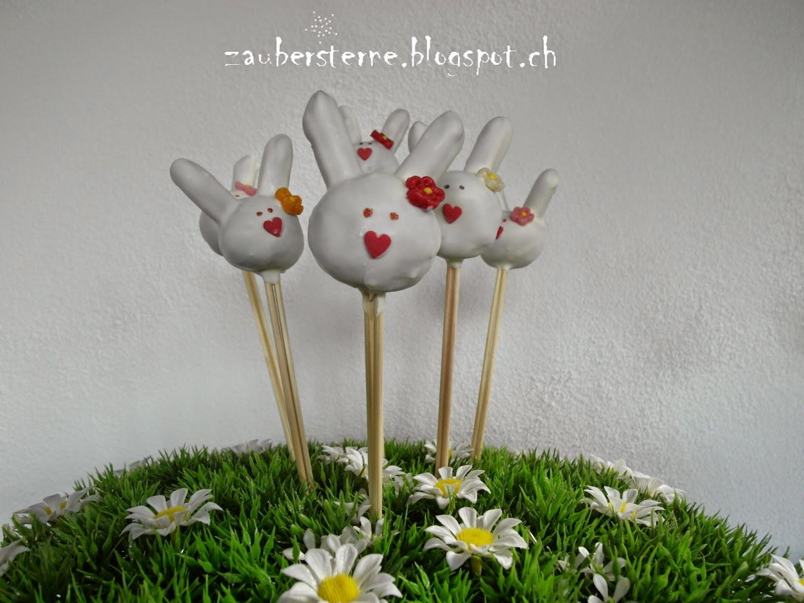 Osterncakepops