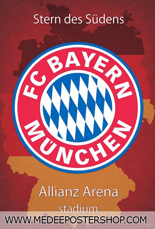 FC Bayern Munich LOGO Poster