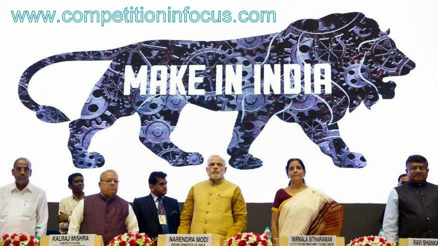 """MAKE IN INDIA""- A BOOST TO THE MANUFACTURING SECTOR"