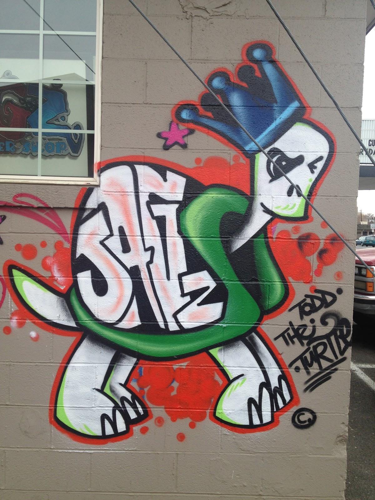Rachel Dorn Ceramic Sculpture: Graffiti and Street Art
