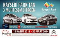 Kayseri-Park-Çekiliş-Kampanyası-Kayseri-Park-Citroen-Çekilişi