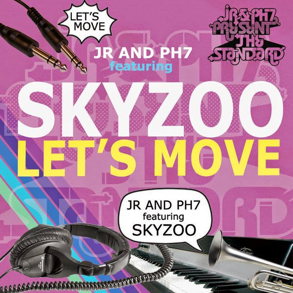 JR & PH7 - Let's Move (feat. Skyzoo) - EP Cover