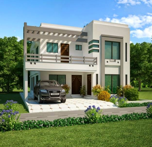 D Front Elevation Of House In Punjab : A group of construction first city associates project