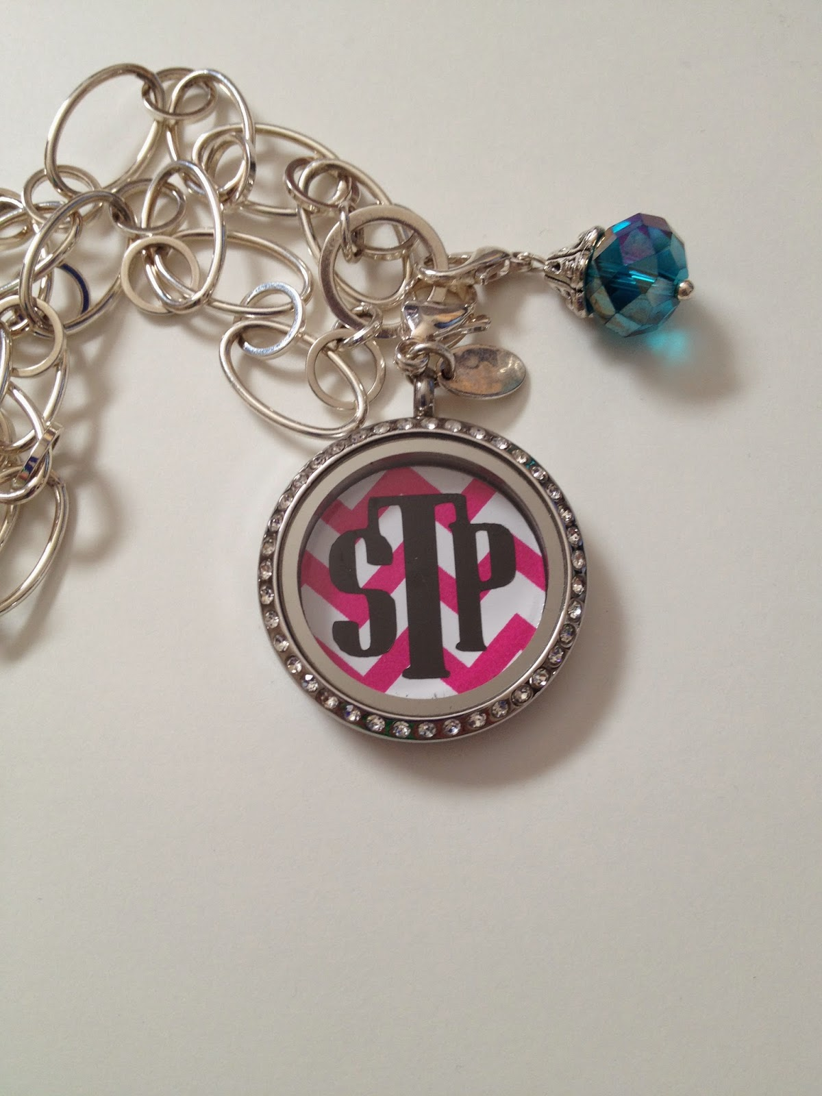 treat heart locket monogrammed lockets republic by personalised