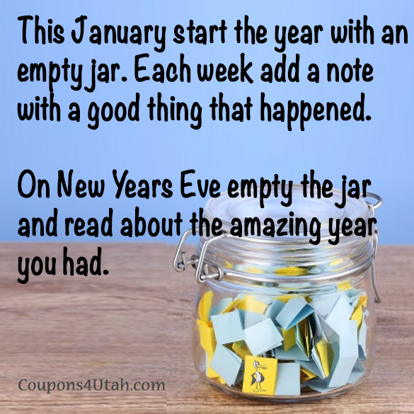 Good Thing Notes in a Jar - Ein Glas voller positiver Dinge
