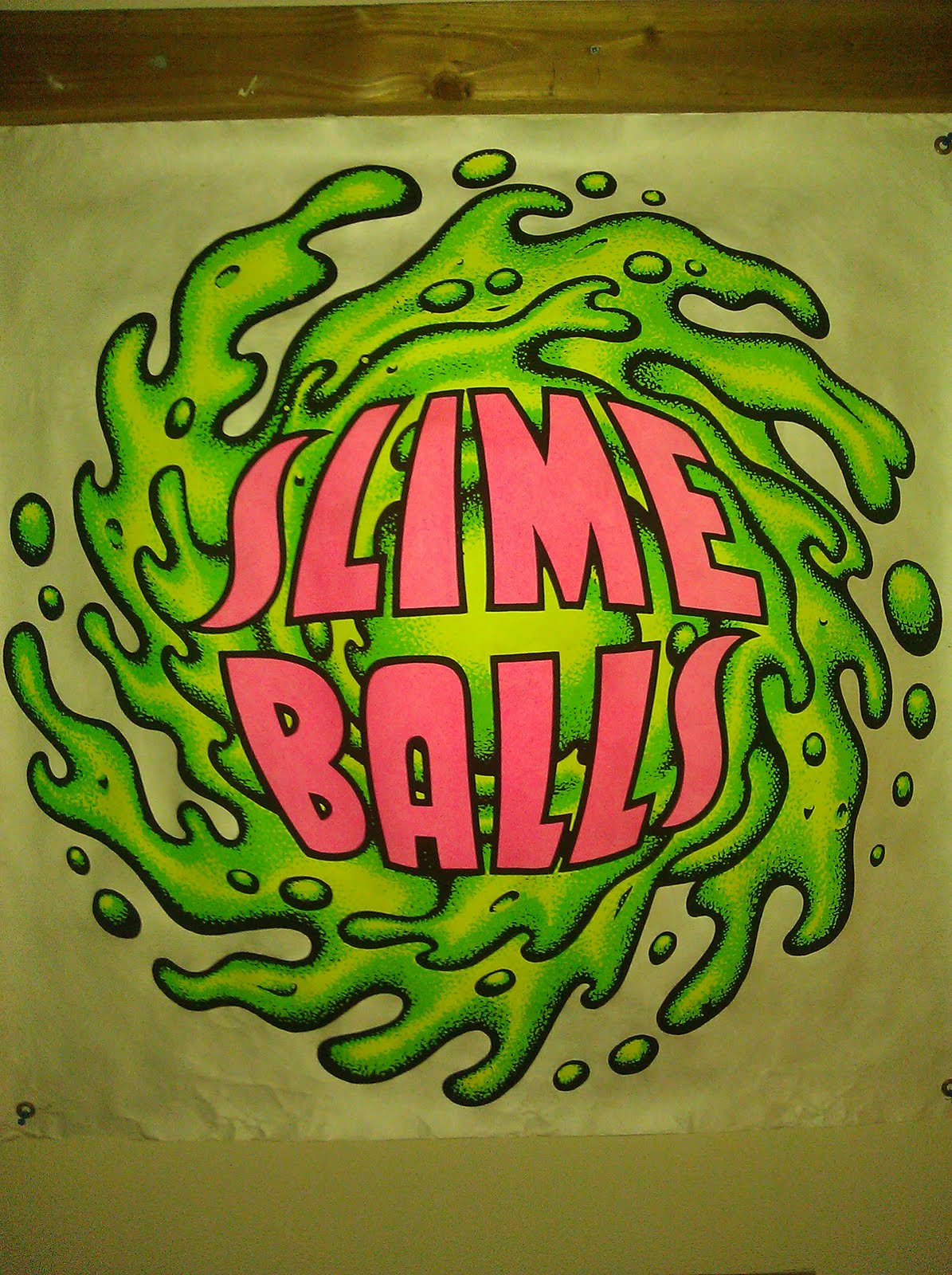 In Case You Dont Know Slimeballs From Santa Cruz Were Skateboard Wheels Back The 80s Are A Big Way