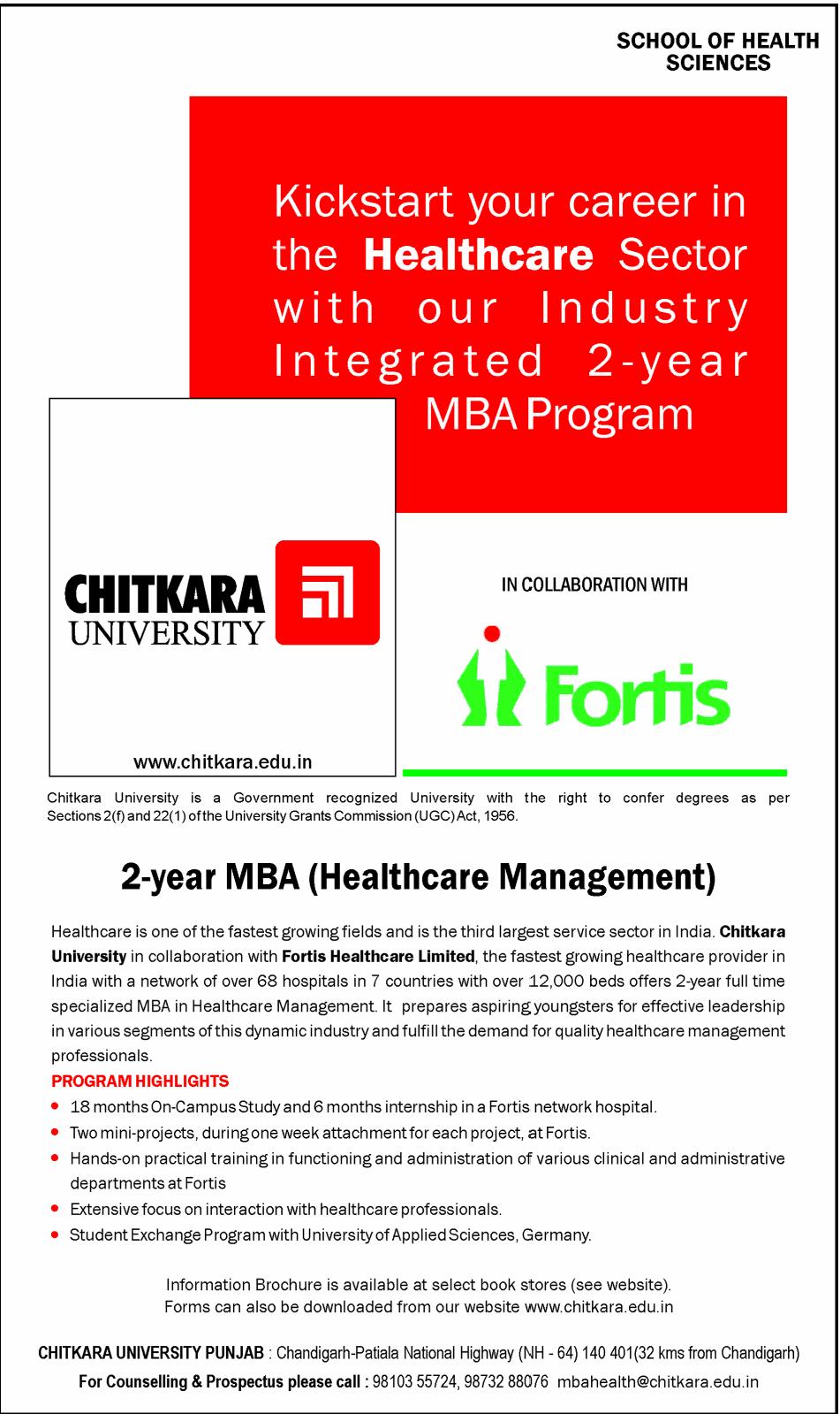 chitkara university mba entrance essay