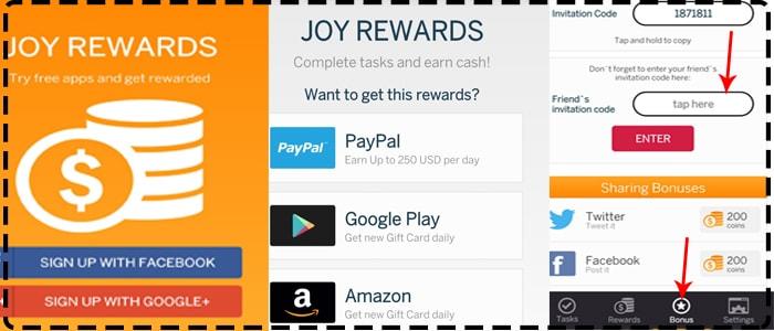 Top 5 android apps to earn money online technodripstechnology joy rewards stopboris Gallery