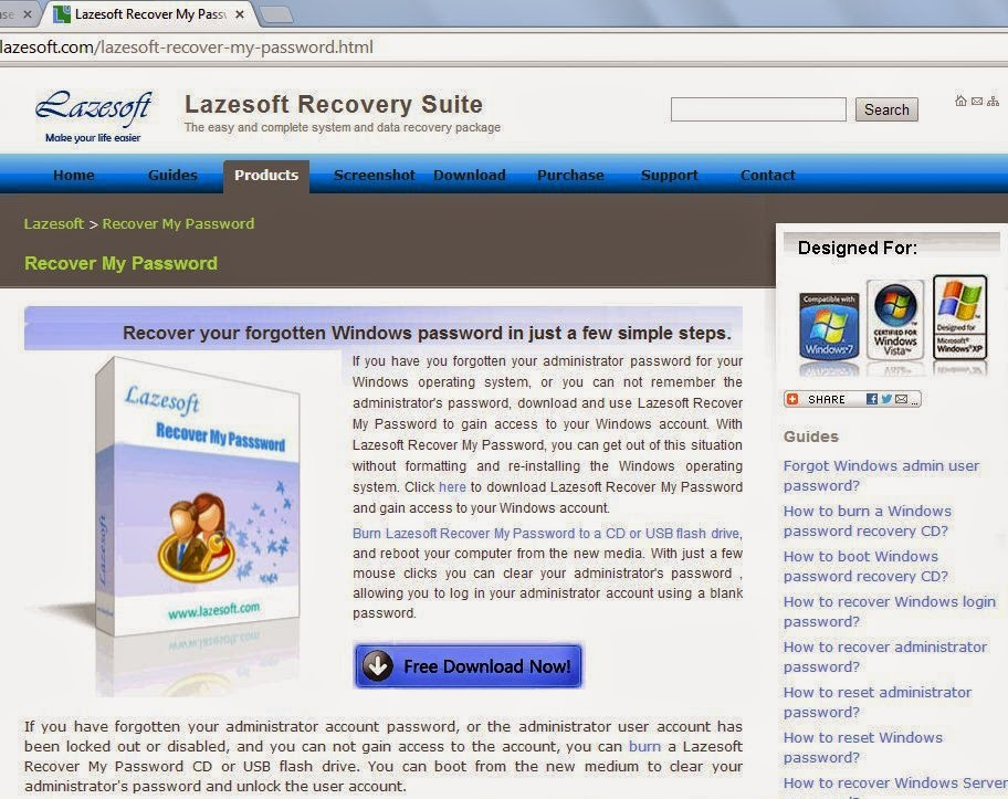 Descargar Lazesoft Recovery Suite Home Edition