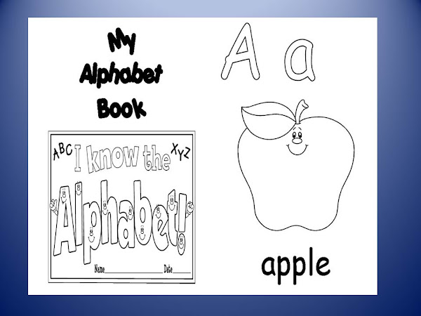 ABC Coloring Book Pages