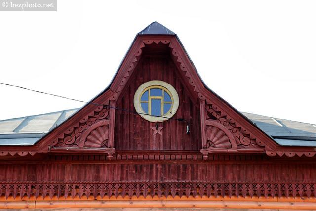 деревянный модерн