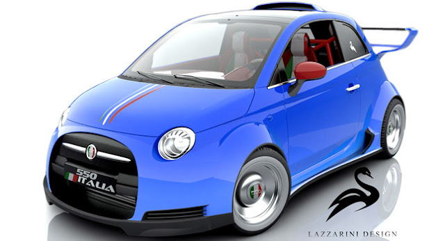 Fiat, , Auto Reviews, Sport,Fiat 500 Cars, Ferrari-Powered