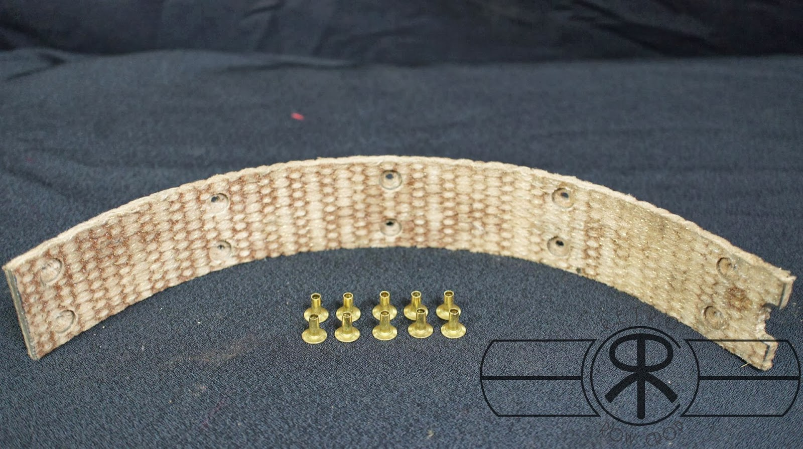 Brake Relining Material : Retro row crop brake band relining service for farmall