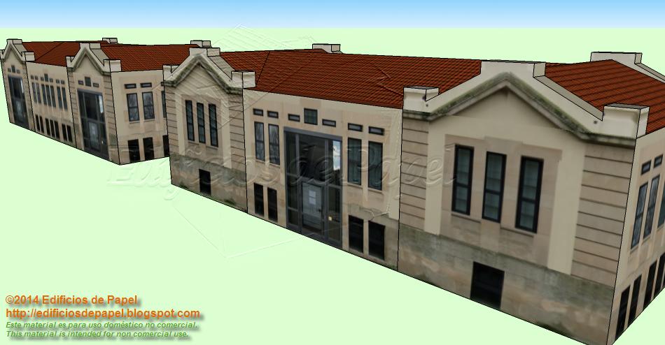Construye varios edificios y forma un complejo universitario o empresarial