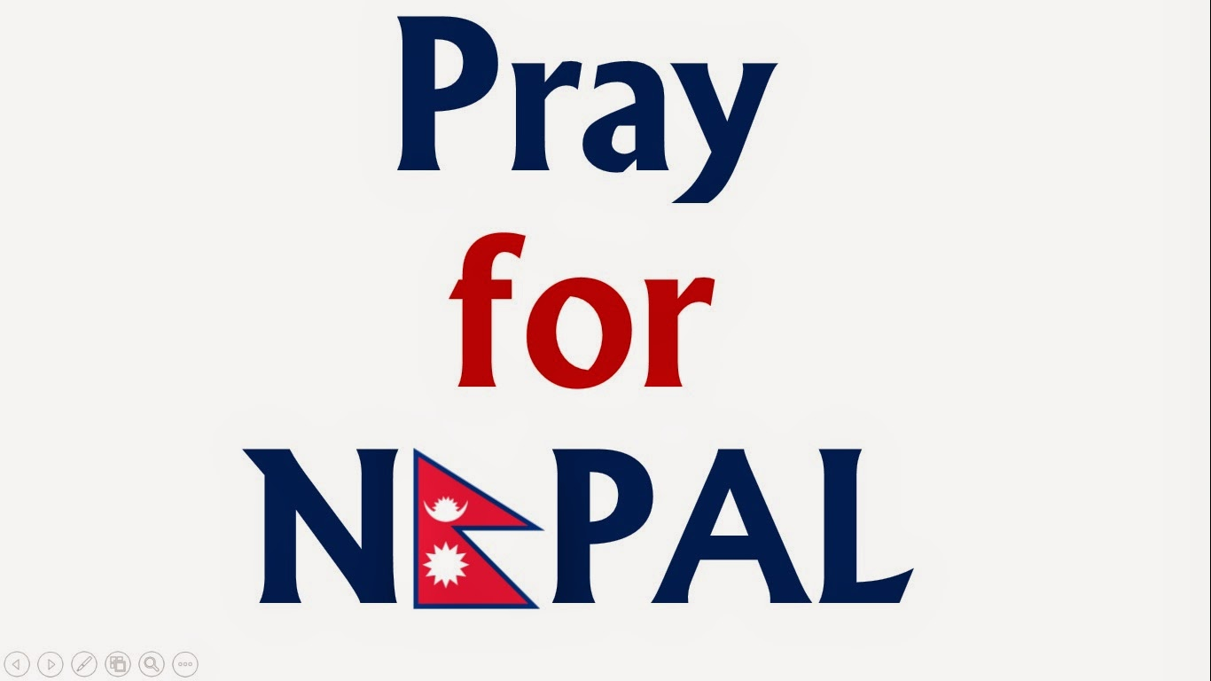 Praying for Nepal
