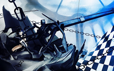 Black Rock Shooter | Wallpaper | Girl | Big Gun