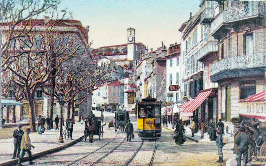 Transpress Nz  Trams In Cannes  France