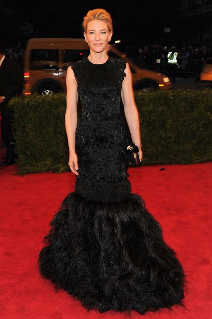 Cate Blanchett met gala