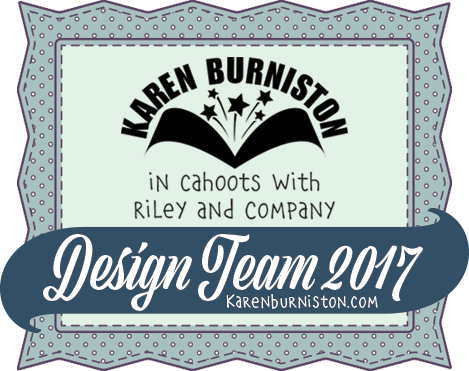Proud Member of Karen Burniston's 2017 Design Team