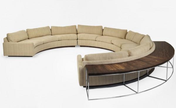 My Mid Century Modern Love Round Sofas