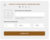 Jurado Electoral 2016