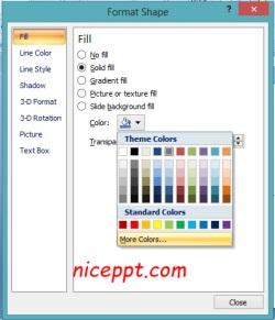 Mengatur Warna Dalam Powerpoint