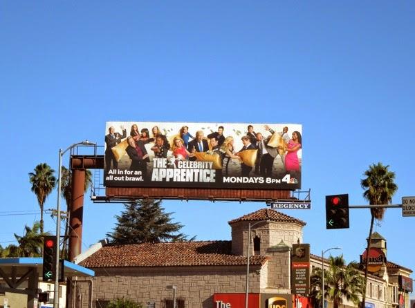 Celebrity Apprentice season 14 billboard