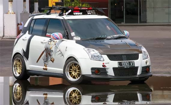 modifikasi suzuki swift