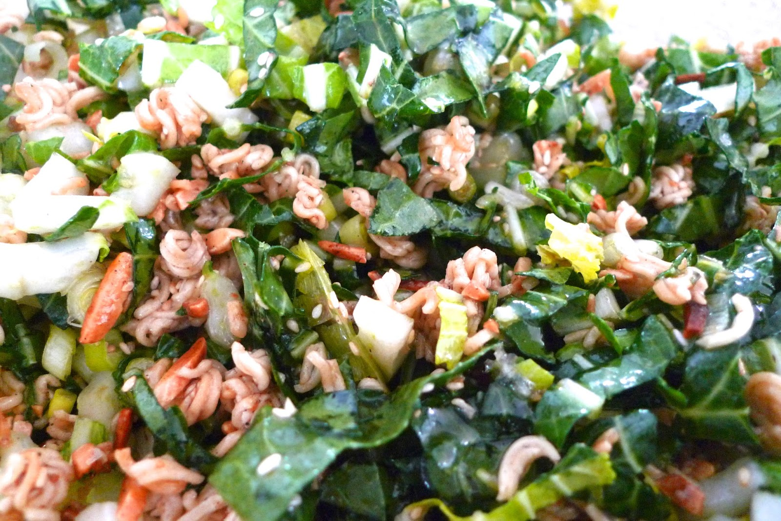 siriously delicious bok choy salad. Black Bedroom Furniture Sets. Home Design Ideas