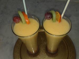 طريقة تحضير عصير كوكتيل فواكه بالصور