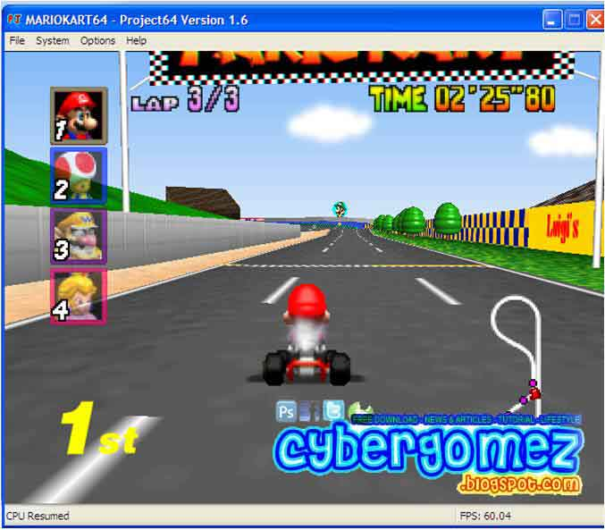 download mario kart 64