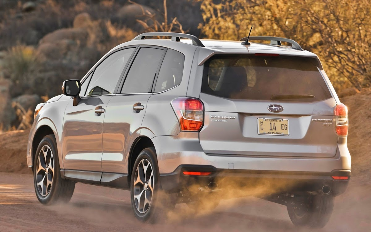 2014 Subaru Forester Widescreen HD Wallpaper 7