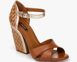 Arezzo verão 2014 sandálias de couro