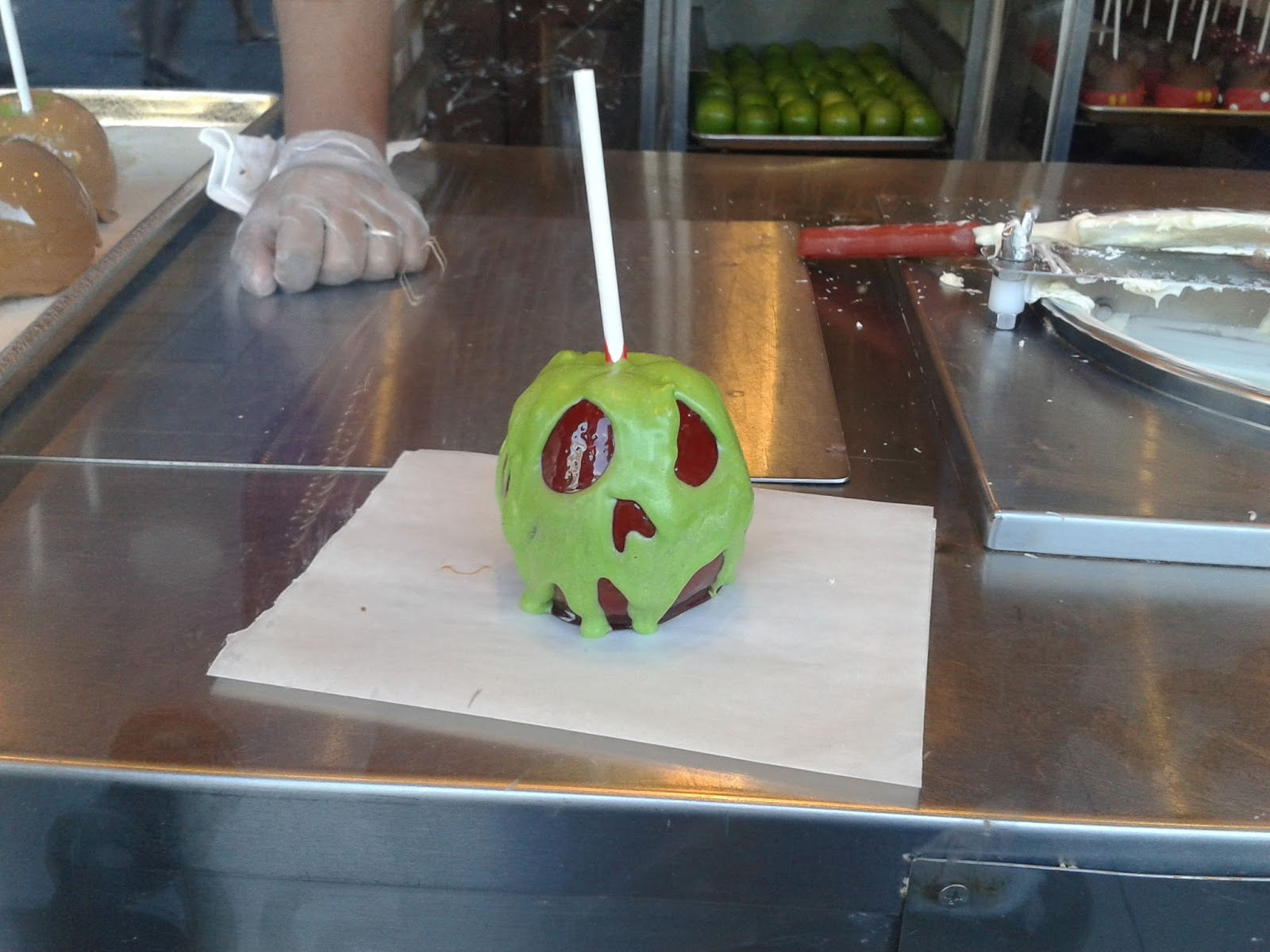 Downtown Disney Candy Cauldron Apple