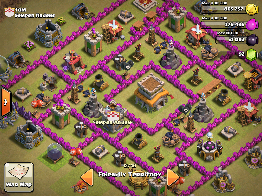 clash of clans how to get clan castle