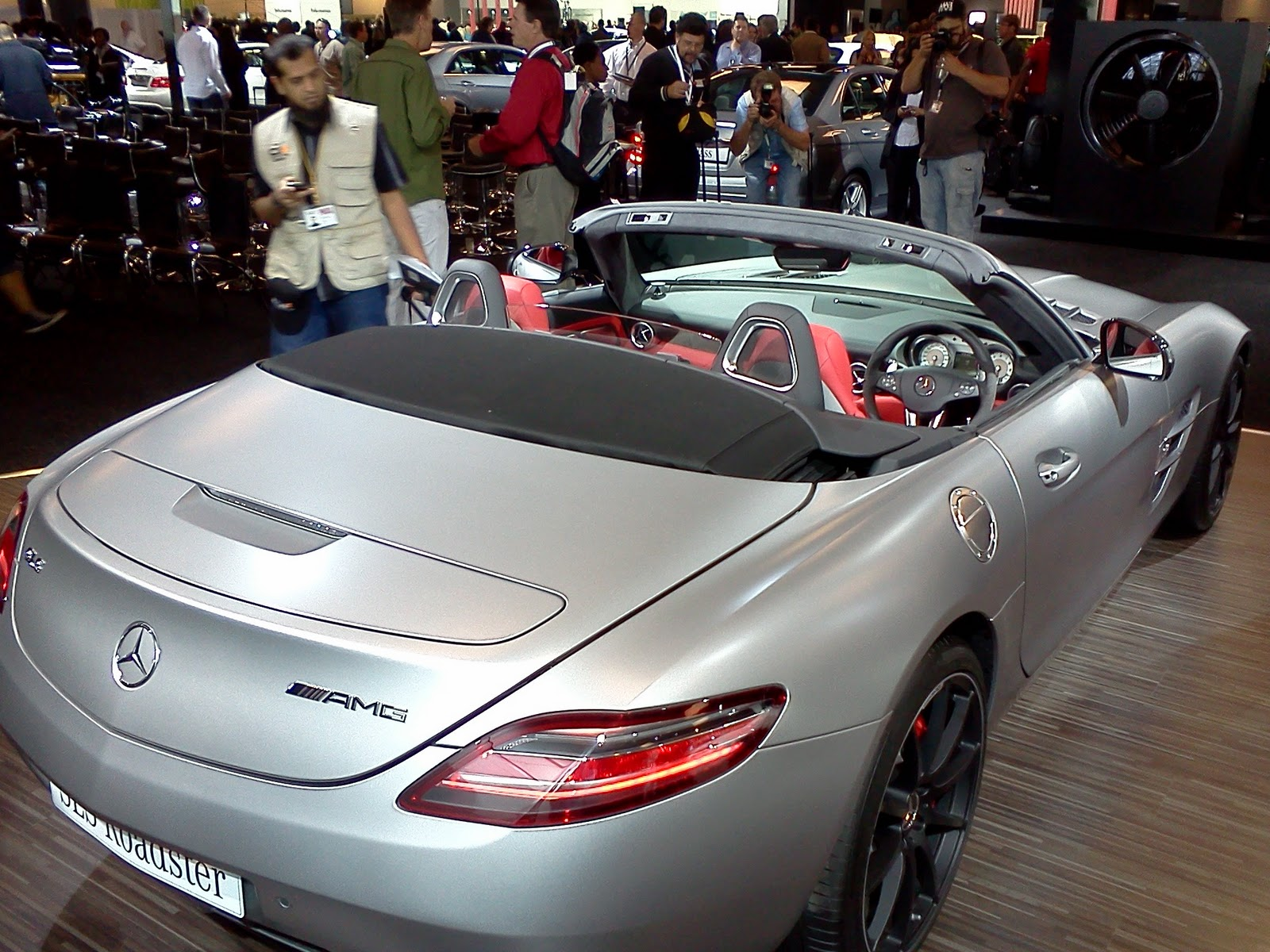 In4ride Jims 2011 Mercedes Benz Stand Reveals Next A