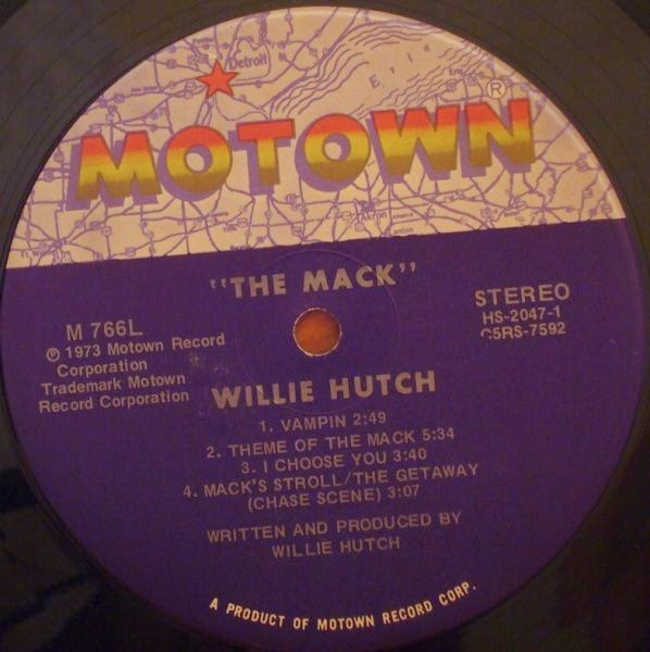 Music Crates: Willie Hutch – The Mack 1973