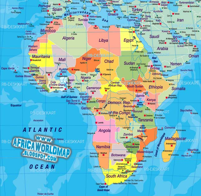 Africa continent world map gumiabroncs