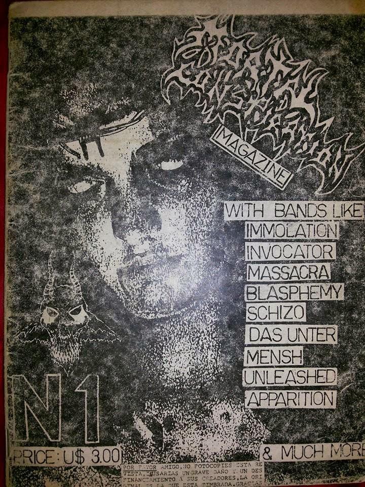 Mi primer fanzine hace muchos años