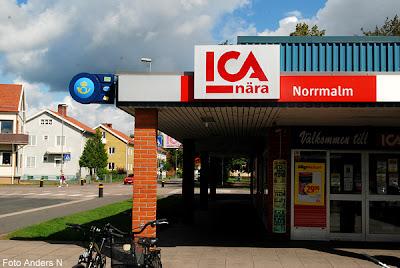 ica nära, norrmalm, ica, butik, affär, skövde, västergötland