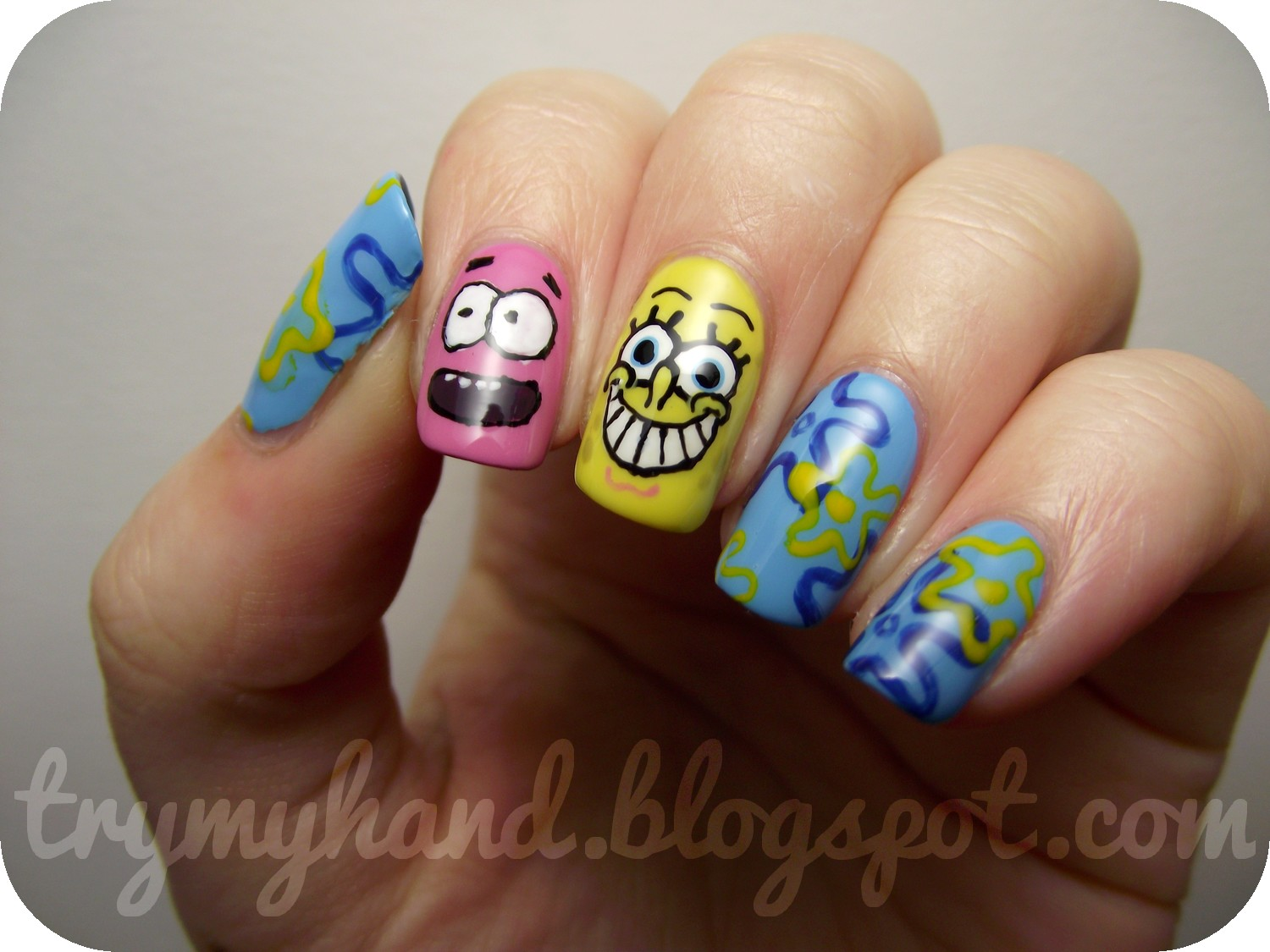 Try my hand notd who lives in a pineapple under the sea wednesday 17 october 2012 prinsesfo Image collections