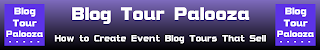 Blog Tour Palooza virtual book tour program